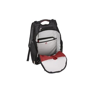 elleven Amped Checkpoint-Friendly Laptop Backpack - Embroidered Image 1 of 5