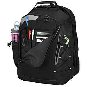 Summit Checkpoint-Friendly Laptop Backpack - Emb Image 3 of 3