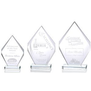 Inspire Starfire Glass Award - 12