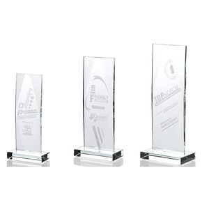 Captivate Starfire Glass Award - 9""