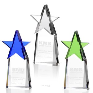 Colorful Star Crystal Award Image 1 of 2