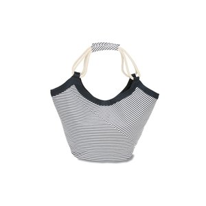 Striped Cotton Rope Tote Image 1 of 2