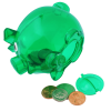 Lil' Piggy Bank - Translucent Image 1 of 2
