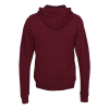 View Extra Image 1 of 1 of Bella+Canvas Tri-Blend Sponge Fleece Full-Zip Hoodie - Embroidered
