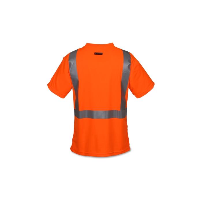Ml kishigo high performance safety t shirt for Safety t shirt logos