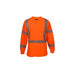 ML Kishigo Class 3 LS Safety T-Shirt Image 1 of 2