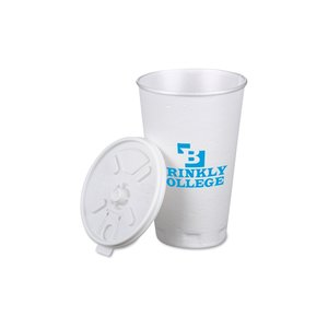 Trophy Hot/Cold Cups w/Tear Tab Lid - 16 oz. Image 1 of 1