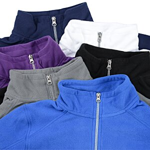 Microfleece 1/2-Zip Pullover - Ladies' Image 2 of 2