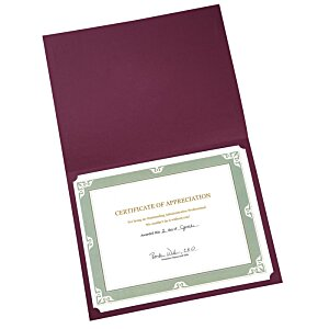 Classic Paper Certificate Folder Image 1 of 1