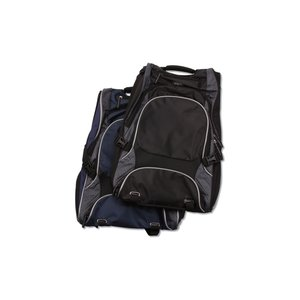 elleven Drive Checkpoint-Friendly Laptop Backpack - Embroidered Image 3 of 6