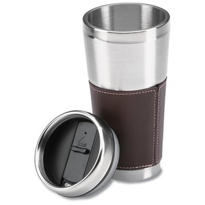 Cutter & Buck Leather Tumbler - 16 oz. Image 1 of 1