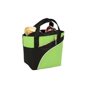 Jet-Setter Lunch Cooler Tote - Closeout Image 3 of 3
