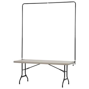 Tabletop Banner System with Tall Back Wall - 6'