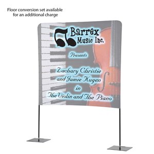 Tabletop Banner System with Tall Back Wall - 6' Image 4 of 4