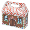 House Shape Box - Gingerbread Image 2 of 2