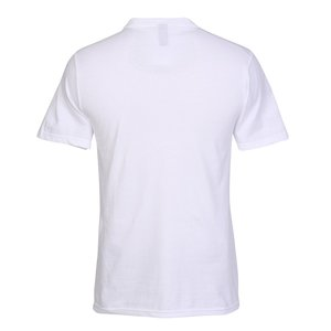 District Concert V-Neck Tee - Men's - White - Emb