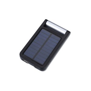 Solar Charger & Desktop Phone Holder - 1300 mAh Image 5 of 6