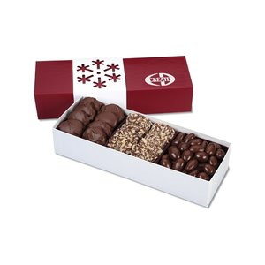 Sweet Treat Snowflake Gift Box Image 1 of 1