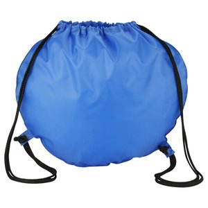 Globe Drawstring Backpack Image 2 of 4
