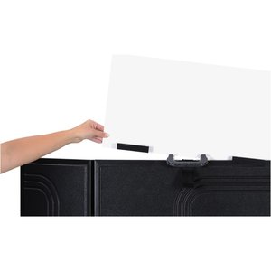 "Briefcase Tabletop Display with Curved Header - 24"" x 48""-FC"