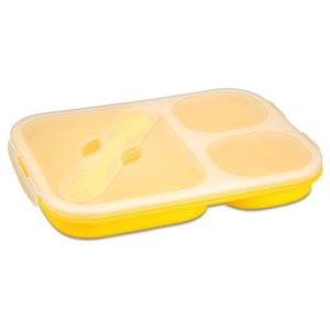 Gourmet Trio Collapsible Lunch Box Image 1 of 3