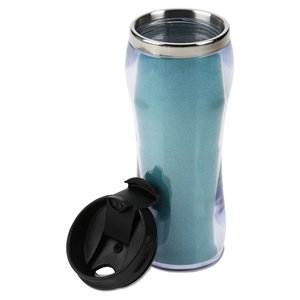 Glitter Travel Tumbler - 14 oz. Image 1 of 2