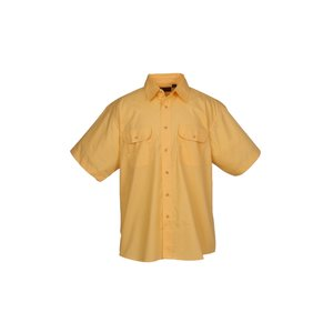 Blue Generation 2-Pocket SS Poplin Shirt-Men's-Closeout Image 1 of 2