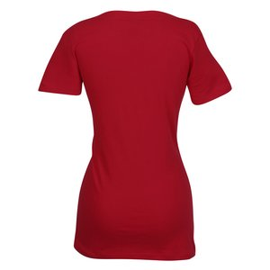 Next Level 3.8 oz. Deep V Tee - Ladies' - Screen Image 1 of 1