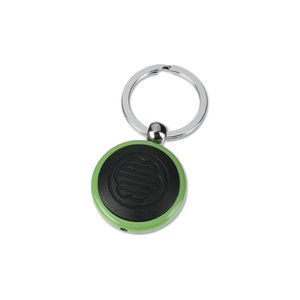 Metal Lighted Key Tag - Round - Closeout Image 1 of 1