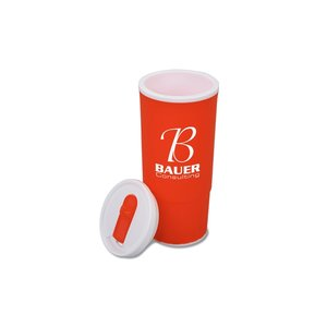 Double Wall Plastic Tumbler - 20 oz. - Closeout Image 1 of 2
