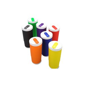 Double Wall Plastic Tumbler - 20 oz. - Closeout Image 2 of 2