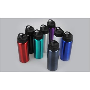Aluminum Wide Mouth Bottle - 25 oz. - Closeout Image 2 of 2