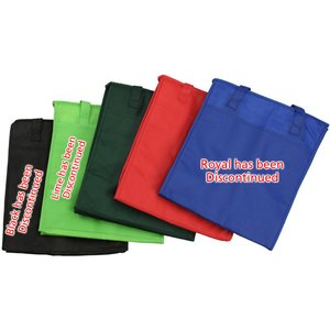 Easy Carry Insulated Shopping Bag - Closeout Image 1 of 2