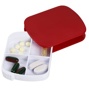 4 Compartment Pill Case - 24 hr Image 1 of 2
