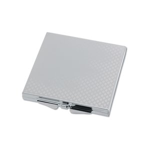 Square Metal Compact Mirror Image 1 of 2