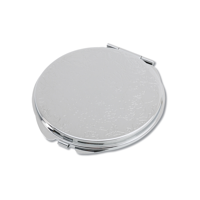 Round metal compact mirror 116748 rd for Round mirror canada