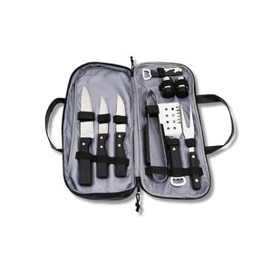 Grill It 9 pc BBQ Set Image 1 of 2