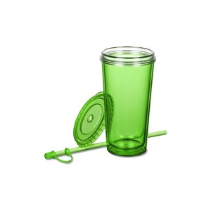TakeOut Tumbler with Straw - 16 oz. Image 1 of 2