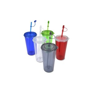 TakeOut Tumbler with Straw - 16 oz. Image 2 of 2