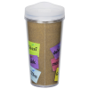 View Extra Image 3 of 4 of ThermalTraveler Tumbler - 16 oz. - Thank You Note
