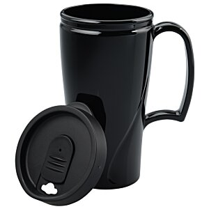 Arrondi Travel Mug - 16 oz. - Opaque Image 2 of 2