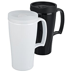Arrondi Travel Mug - 16 oz. - Opaque Image 1 of 2