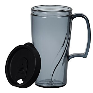 Arrondi Travel Mug - 16 oz. - Translucent