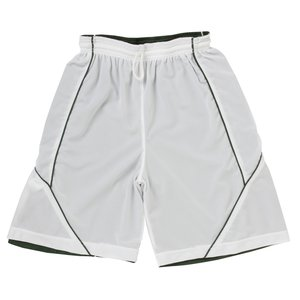 Smooth Mesh Reversible Spliced Shorts Image 1 of 1