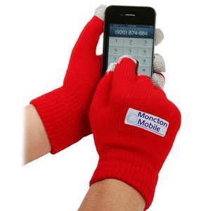 Touch Screen Gloves - Full Color Image 1 of 2