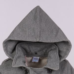 Independent Trading Co. Fleece Pea Coat - Ladies' Image 1 of 2