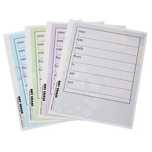 Removable Memo Board Sticker - Weekly - Burst Image 1 of 1