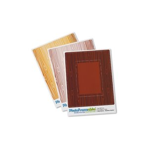 Removable Picture Frame Decal - 2 x 3 - Woodgrain Image 1 of 2