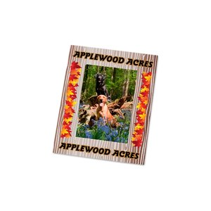 Removable Picture Frame Decal - 2 x 3 - Woodgrain