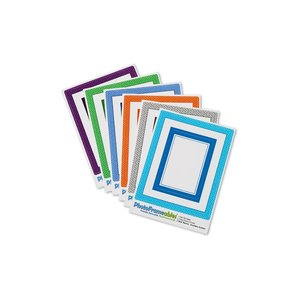 Removable Picture Frame Decal - 2 x 3 - Diamond